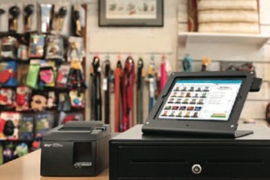 retail shopping cash register