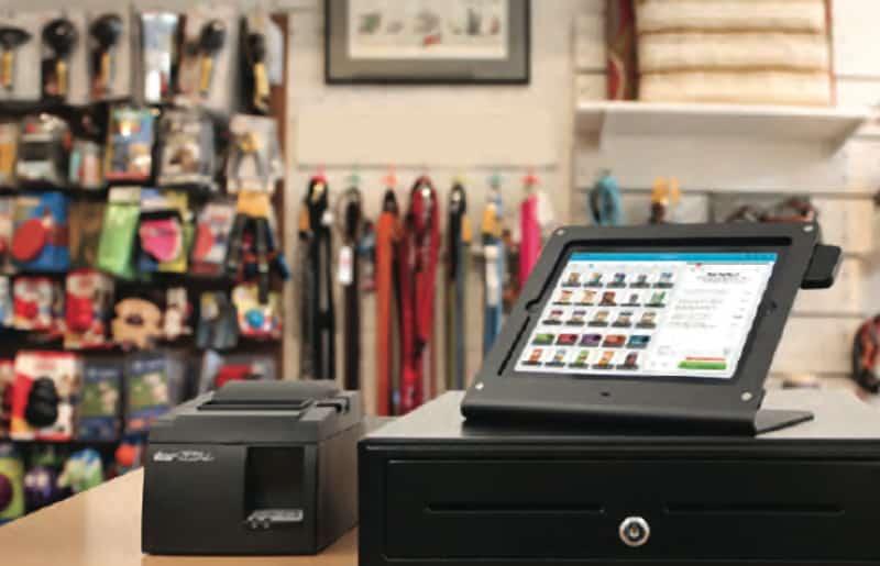 retail shopping cash register
