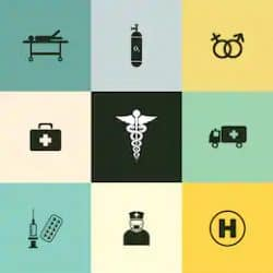 Icon for healthcare