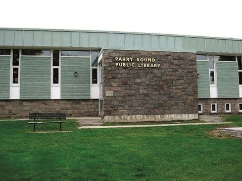 public library of Parry sound