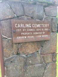 Carling cemetery photo